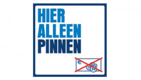 alleen pin