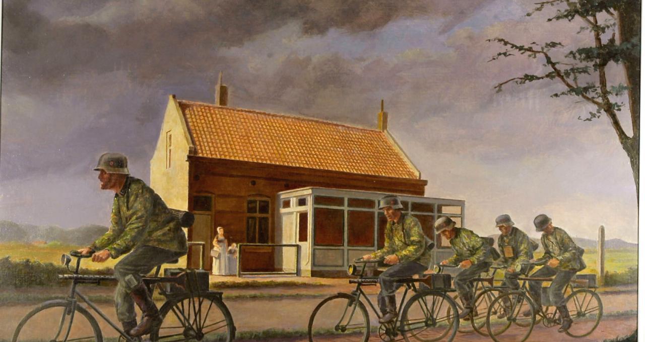 Besatzung in Bildern - Der Zweite Weltkrieg aus der Sicht