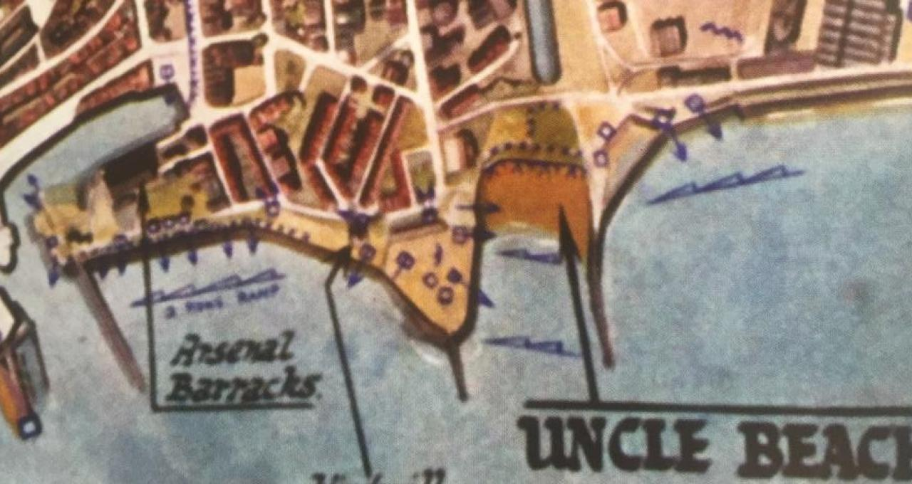uncle beach map