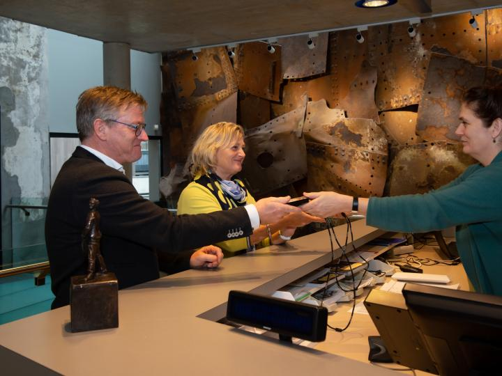 audiotour in het muZEEum Vlissingen